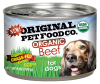 Original Pet Food Organic Beef Dog Food