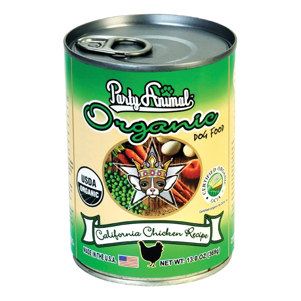 Party Animal Organic California Chicken Canned Dog Food