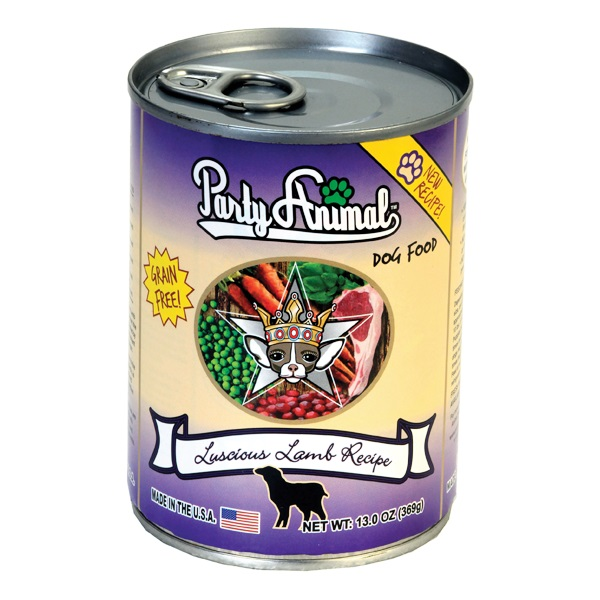 Party Animal Organic Luscious Lamb Canned Dog Food