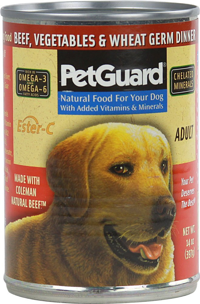 PetGuard Canned Dog Food