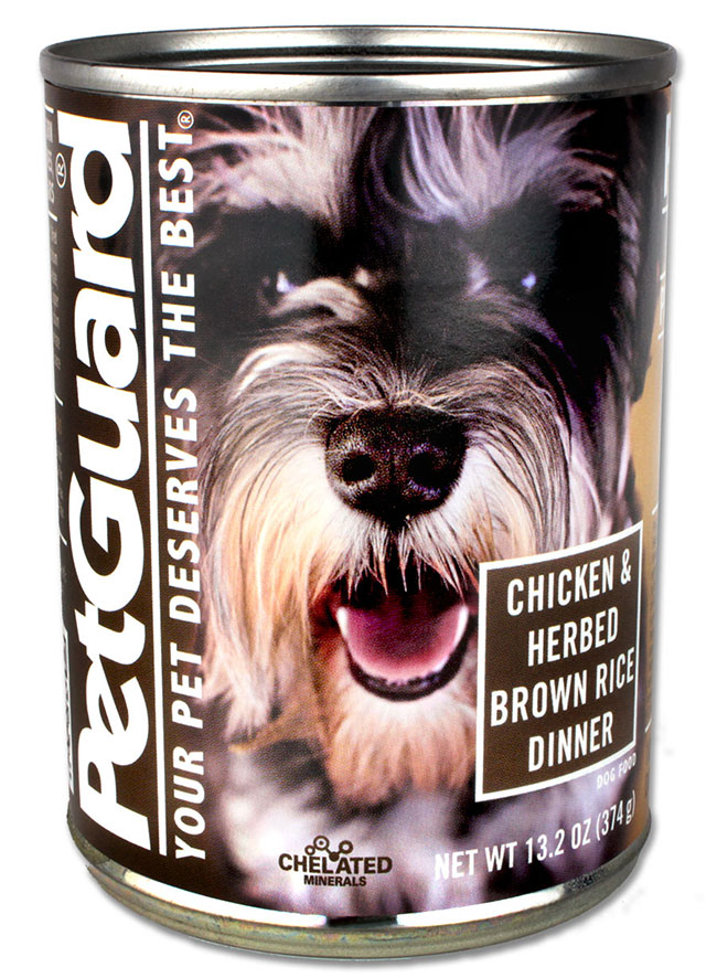 PetGuard Chicken & Herbed Brown Rice Dog Food