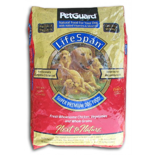 PetGuard Dry Dog Food