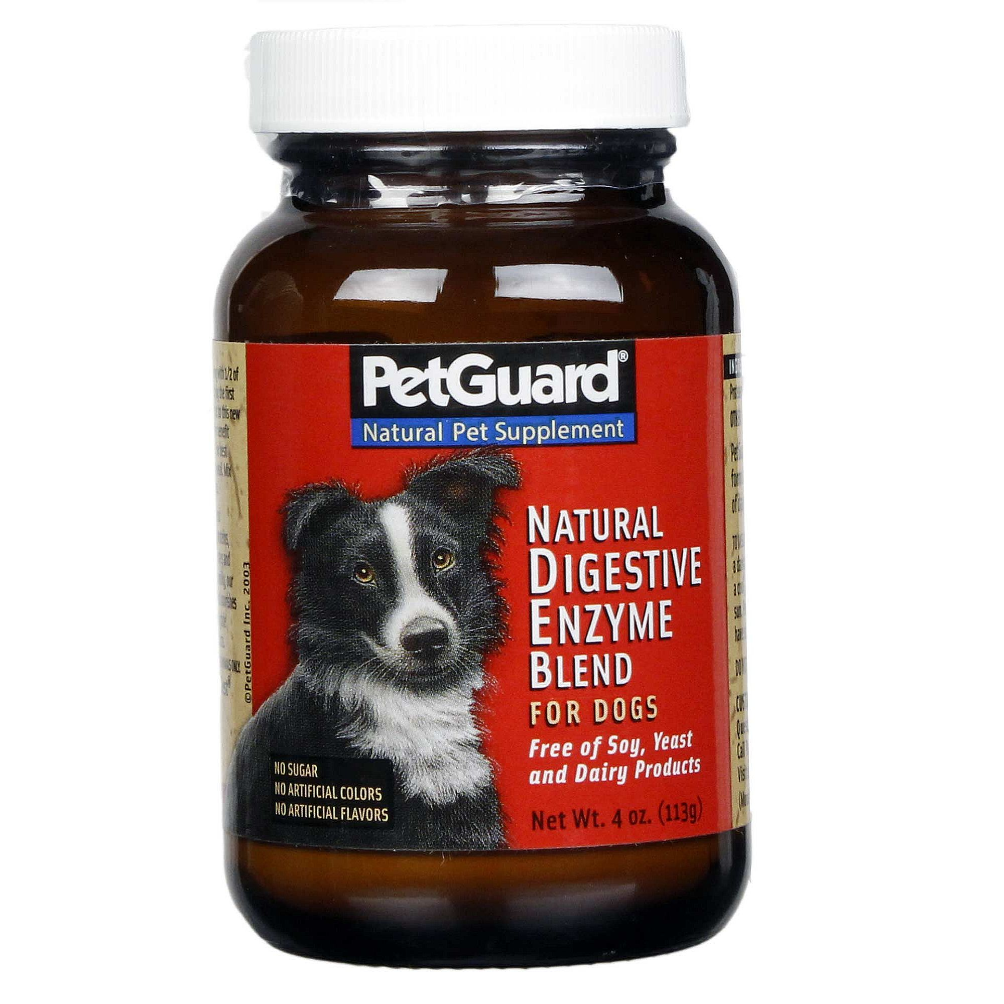 PetGuard High Potency Digestive Enzymes Dog Supplements