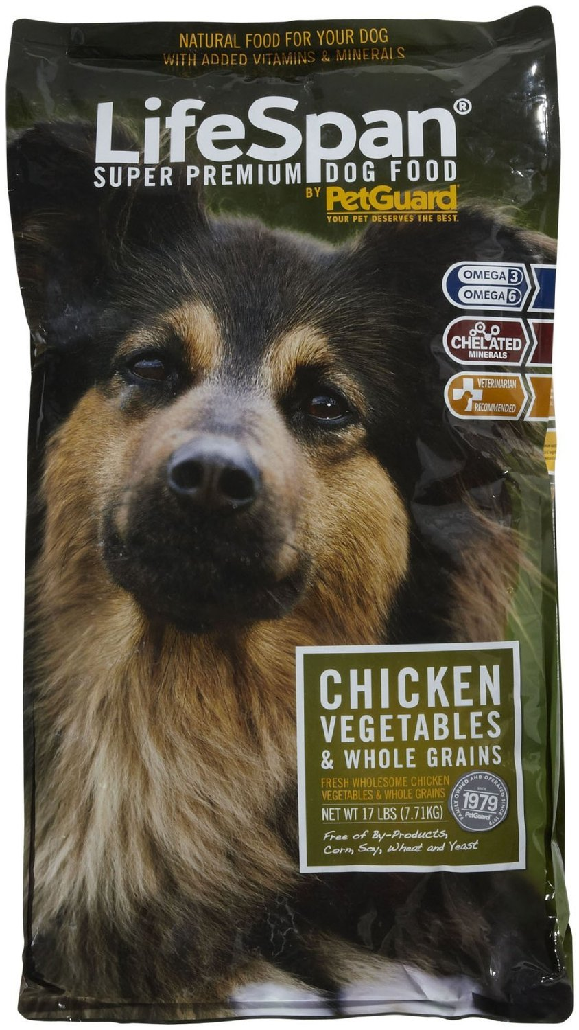 PetGuard Lifespan Dog Food