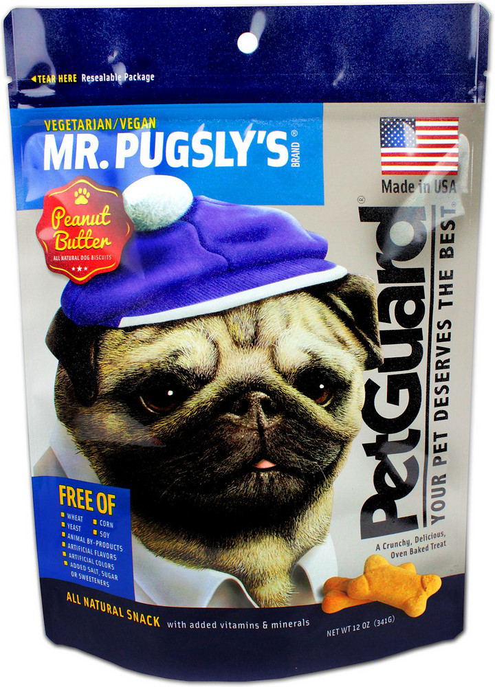 PetGuard Mr. Pugsly's Peanut Butter Dog Biscuits