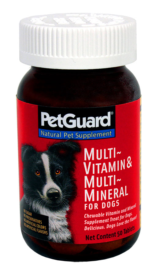 PetGuard Multi-Vitamain & Minerals Dog Supplements