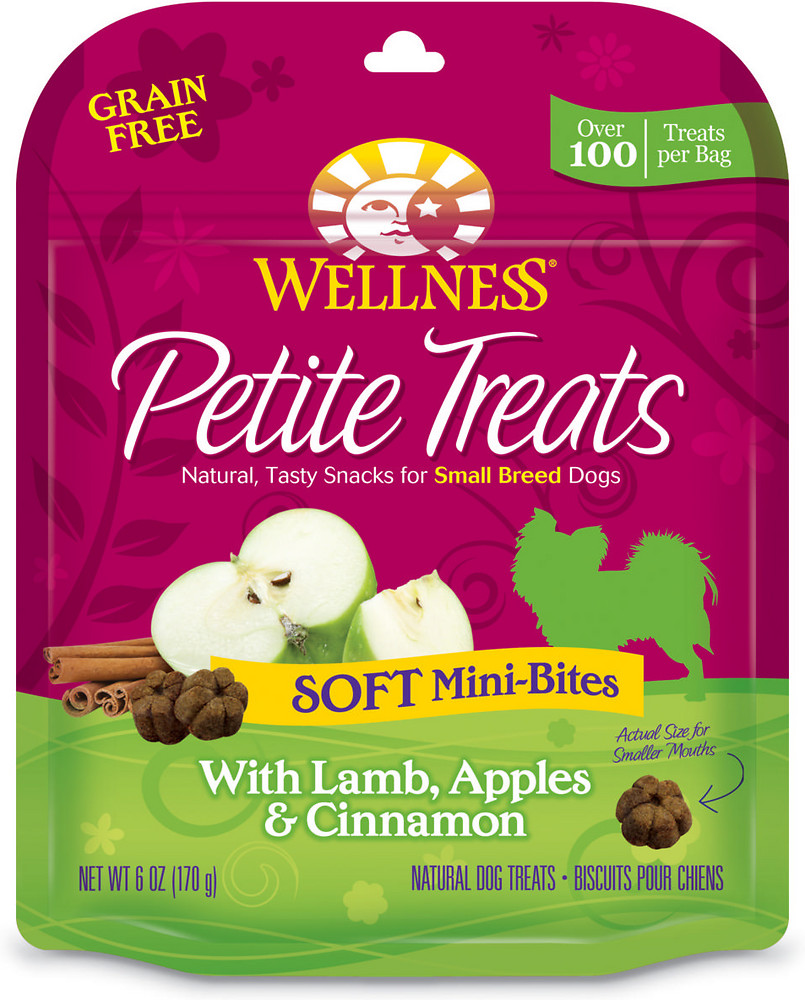 Petite Treats Soft Mini-Bites With Lamb, Apples & Cinnamon