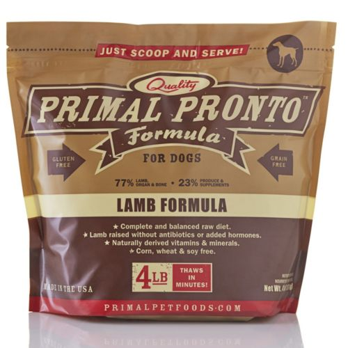 Primal Pet Foods Raw Pronto Formulas