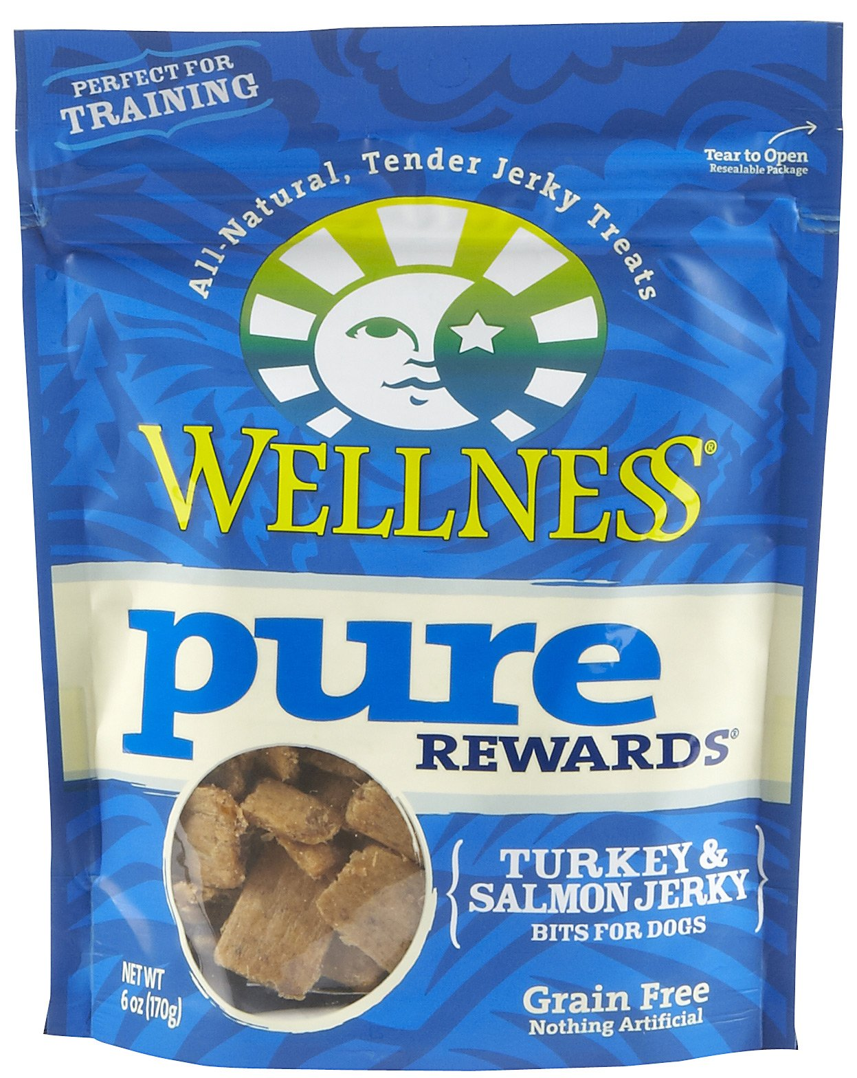 Pure Rewards Turkey & Salmon Jerky