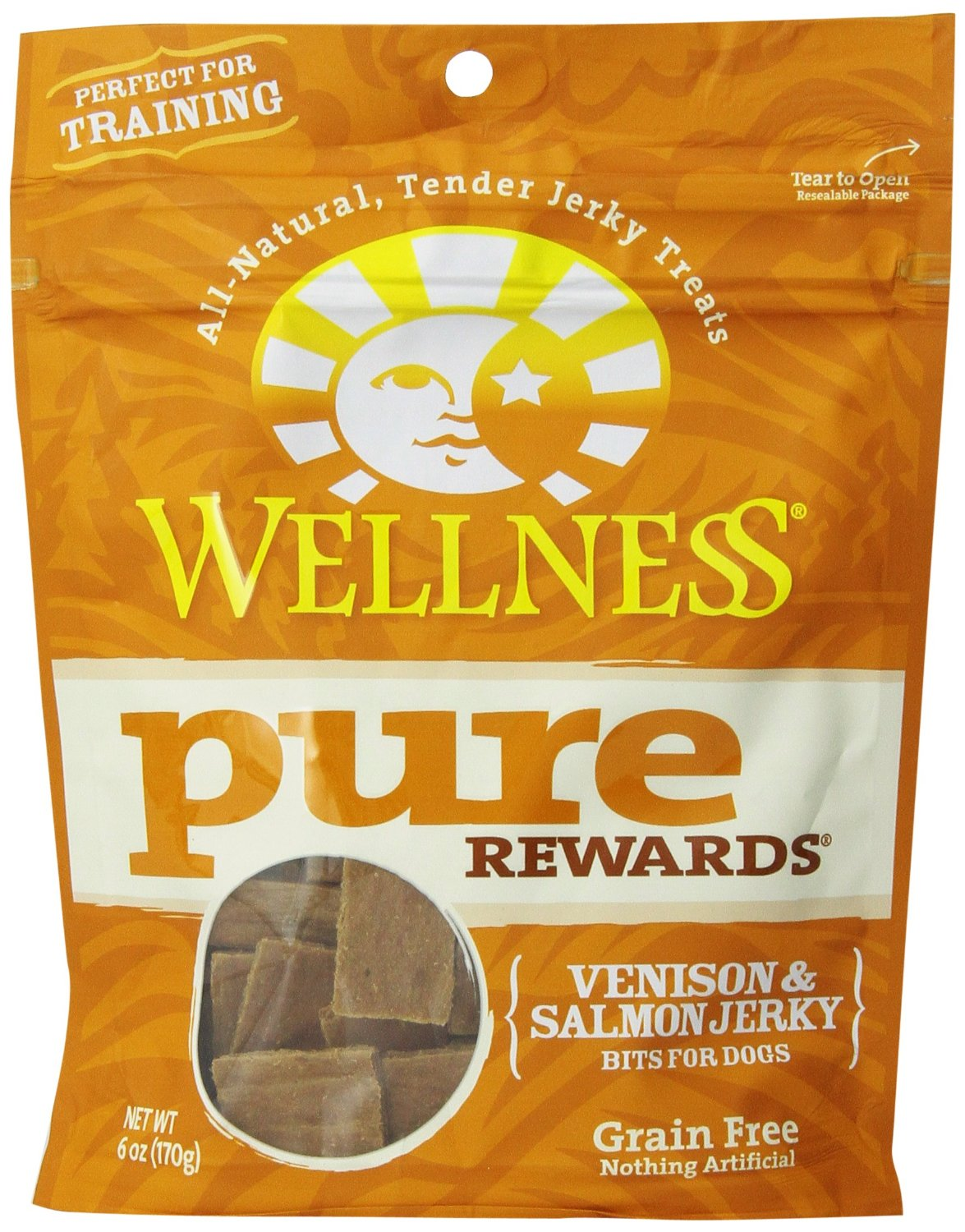 Pure Rewards Venison & Salmon Jerky