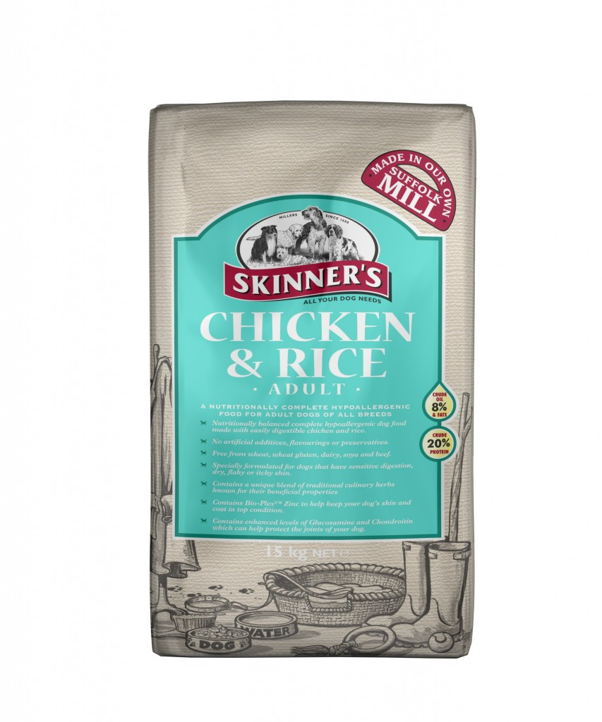 Skinner's Chicken & Rice Dog Food