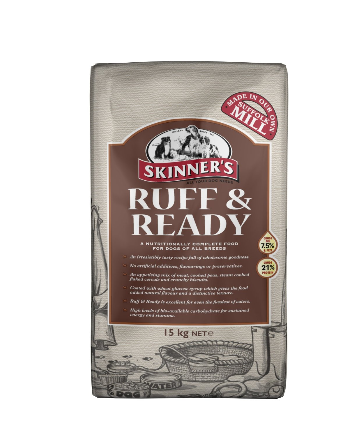 Skinner's Ruff & Ready Dog Food