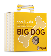 Sojos Big Dog Biscuits & Gravy Dog Treats