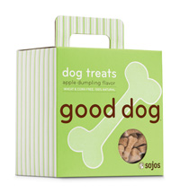 Sojos Good Dog Apple Dumpling Dog Treats