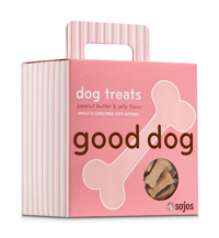 Sojos Good Dog Peanut Butter & Jelly Dog Treats