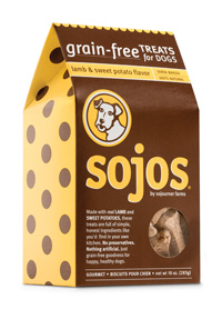 Sojos Grain-Free Lamb & Sweet Potato Dog Treats