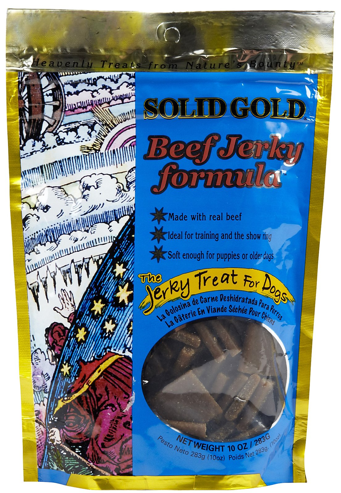 Solid Gold Beef Jerky Dog Treats