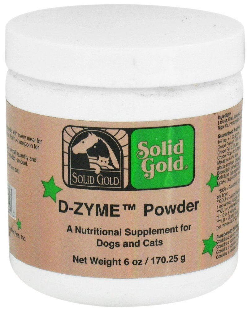 Solid Gold D-Zyme Dog & Cat Supplement