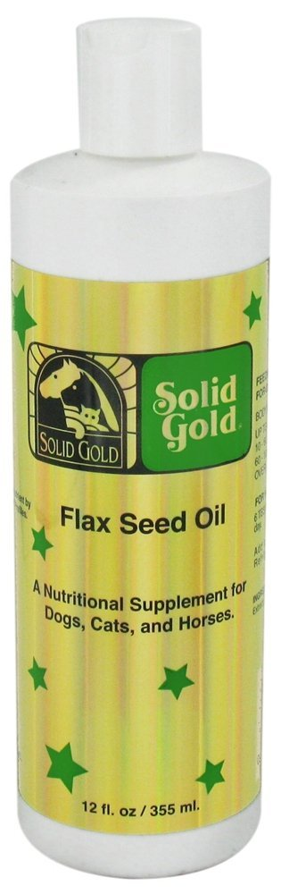 Solid Gold Flax Seed Oil Dog & Cat Supplement