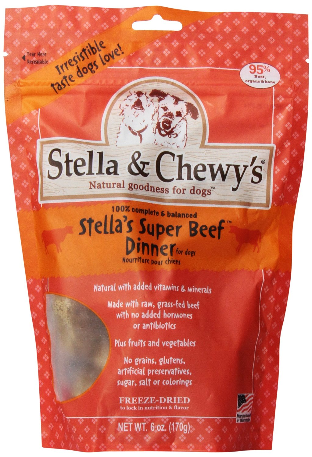 Stella & Chewy's Beef Dog Dinners