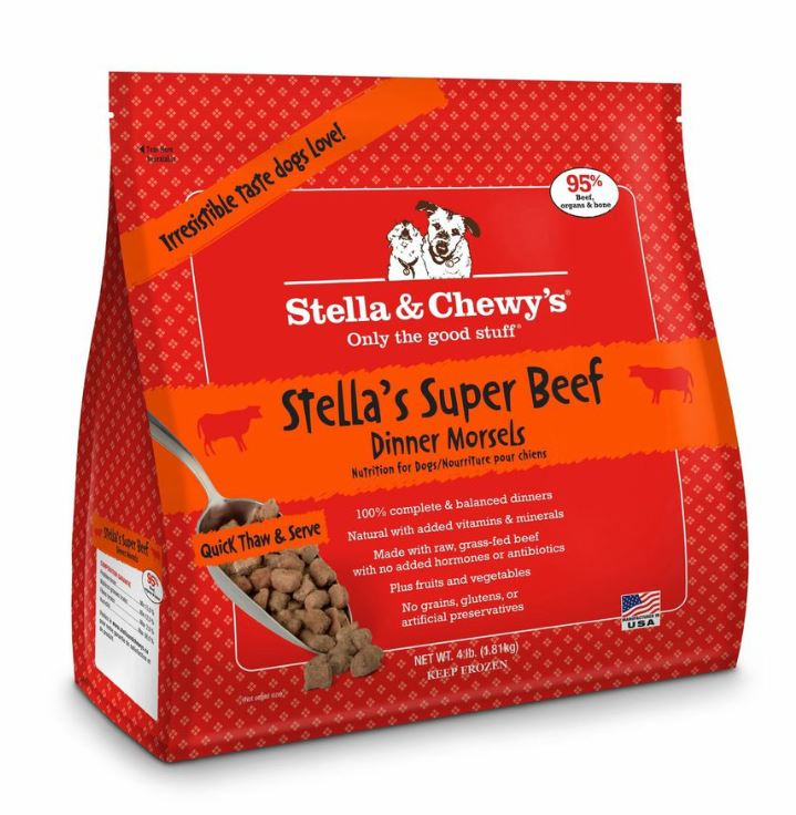 Stella & Chewy's Beef Frozen Morsels Dog Dinners