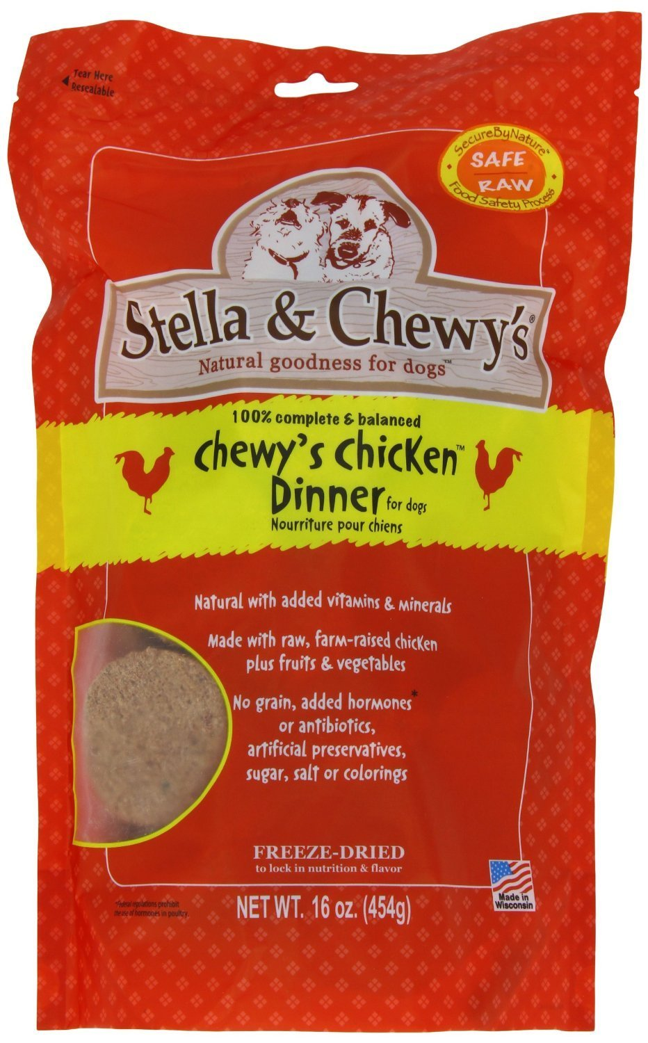Stella & Chewy's Chicken Dog Dinners