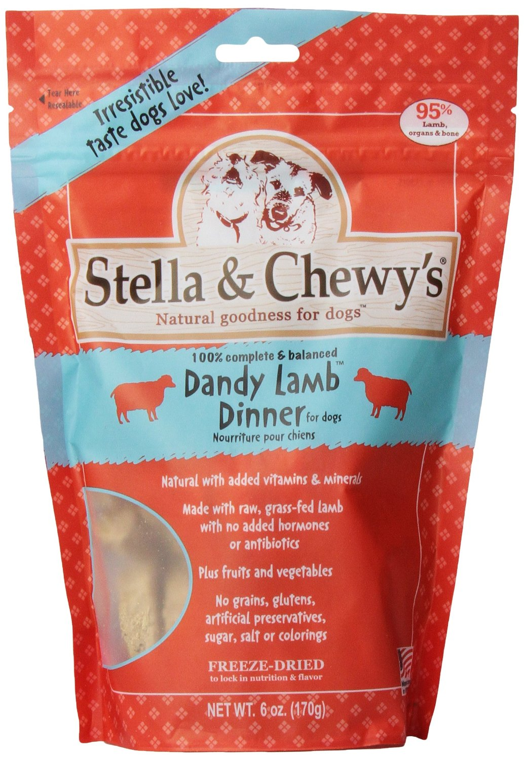Stella & Chewy's Lamb Dog Dinners