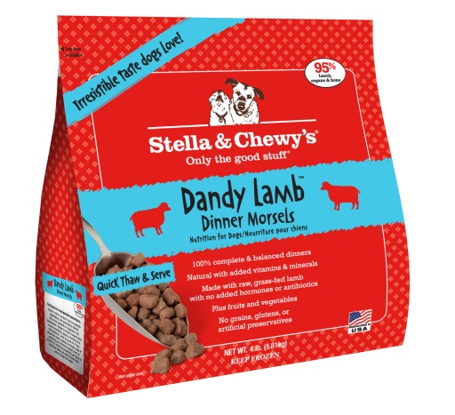 Stella & Chewy's Lamb Frozen Morsels Dog Dinners