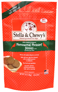 Stella & Chewy's Pheasant Frozen Patties Dog Dinners