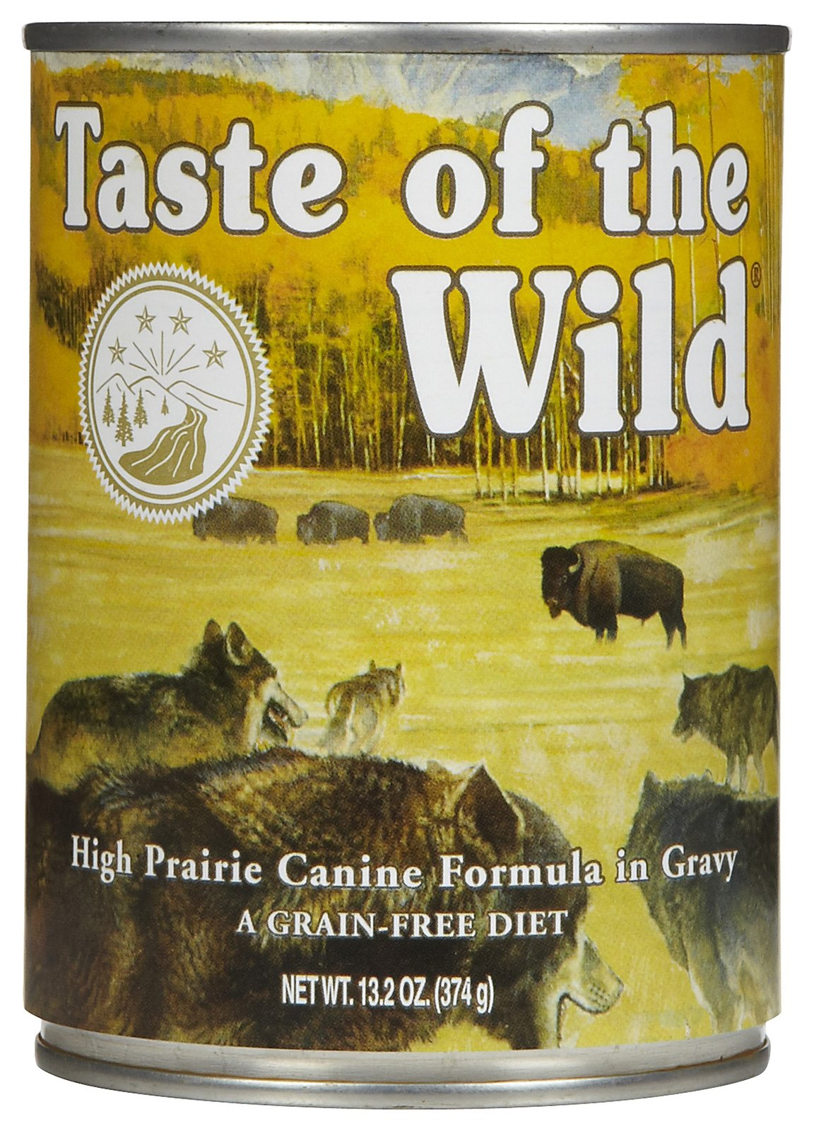 Taste of the Wild Canned High Prairie Canine Formula Dog Food