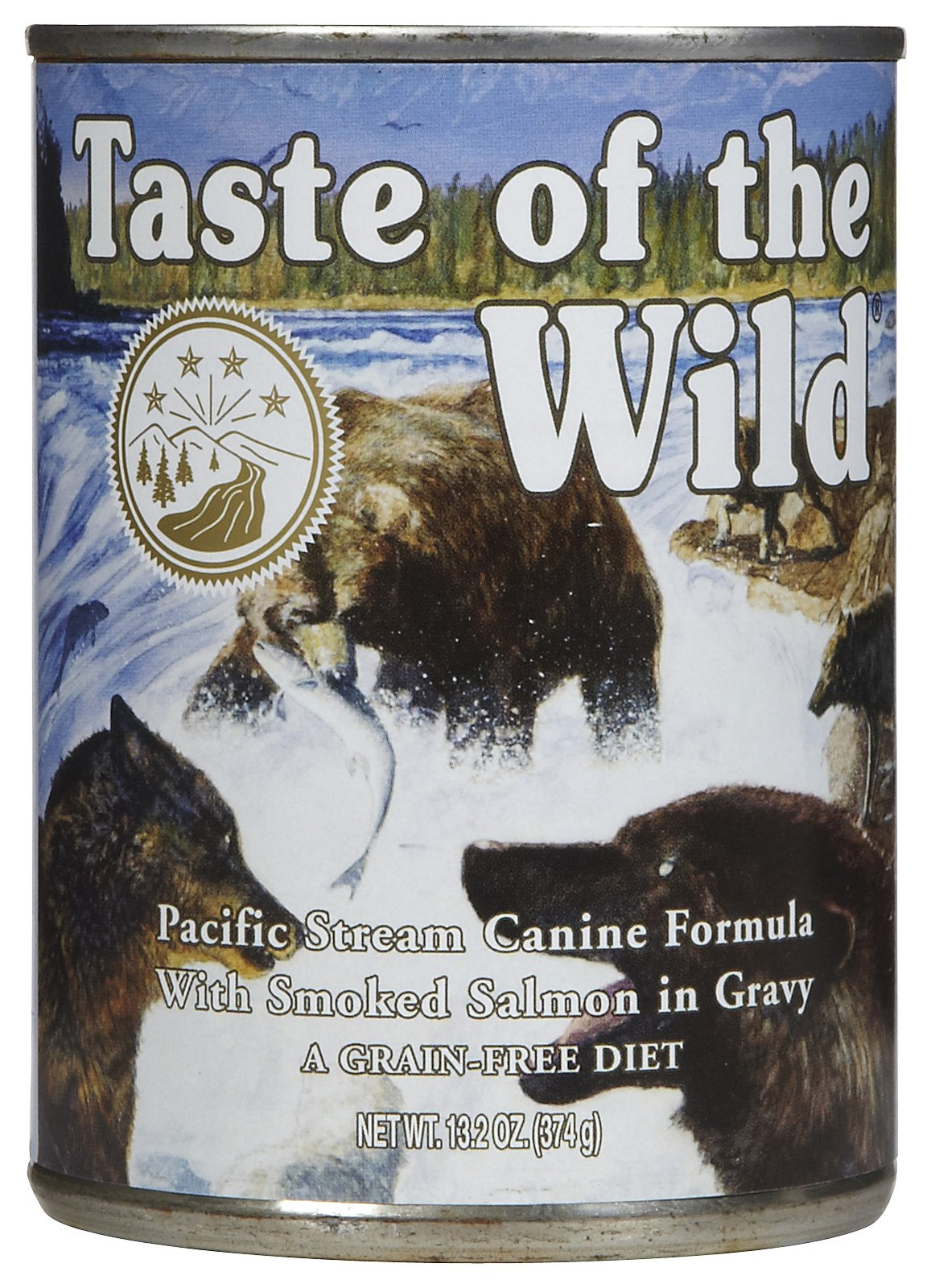 Taste of the Wild Canned Pacific Stream Canine Formula Dog Food