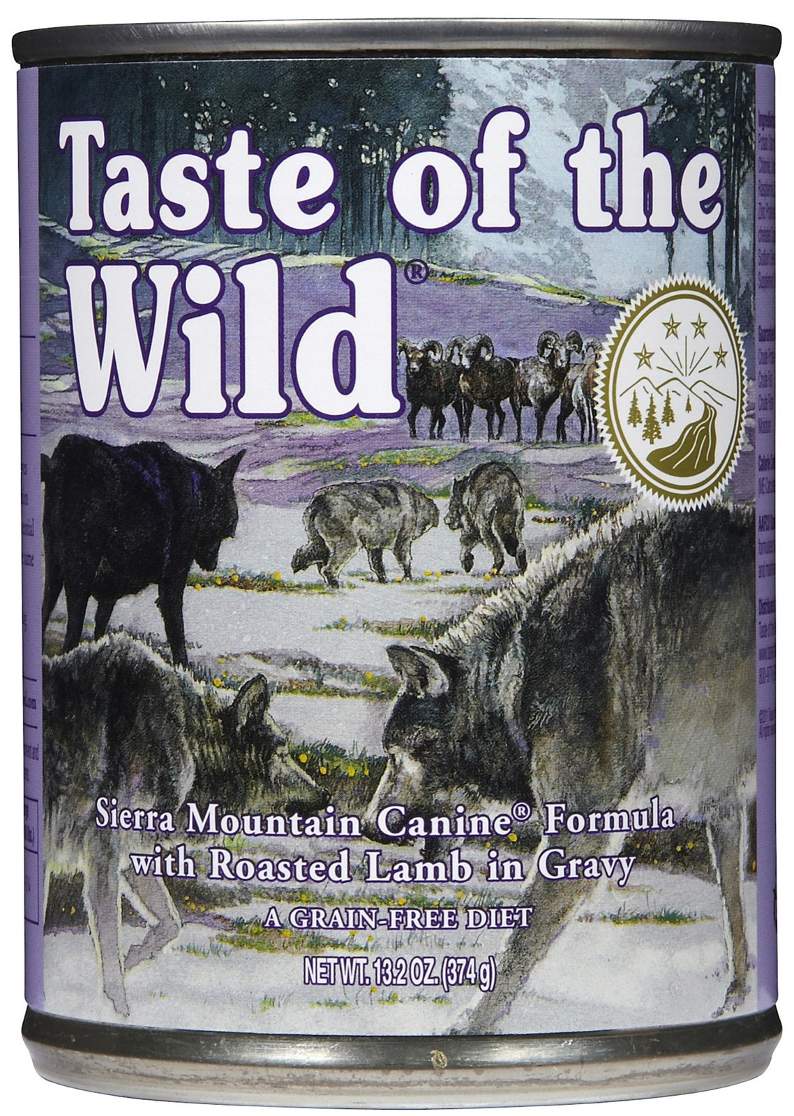 Taste of the Wild Canned Sierra Mountain Canine Formula Dog Food