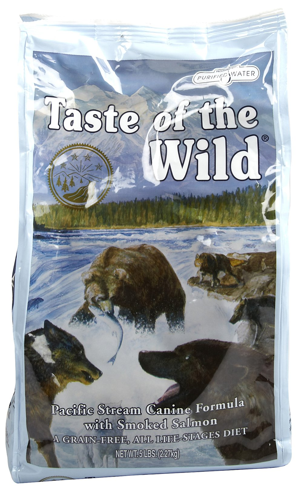 Taste of the Wild Dry Pacific Stream Canine Formula Dog Food