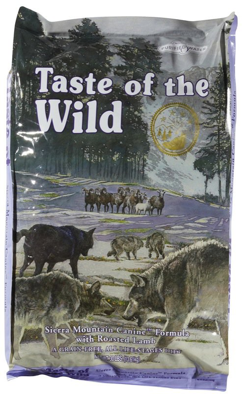 Taste of the Wild Dry Sierra Mountain Canine Formula Dog Food