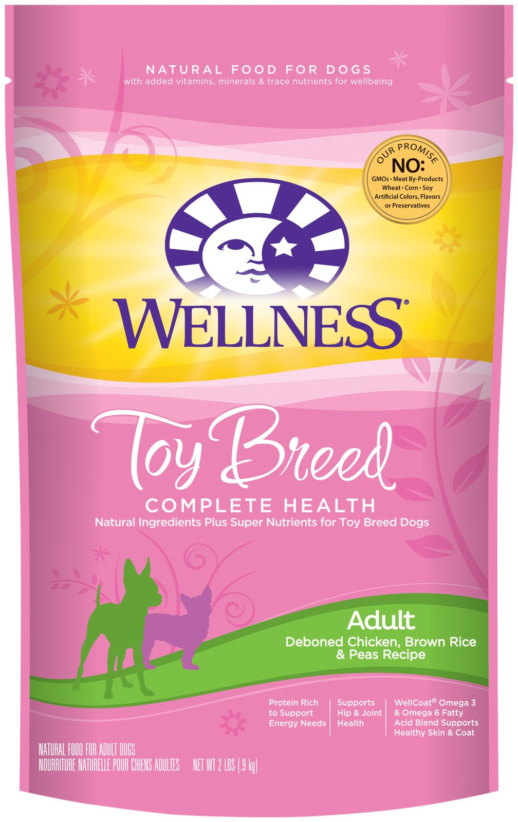 Toy Breed Complete Health Adult Deboned Chicken, Brown Rice & Peas Recipe