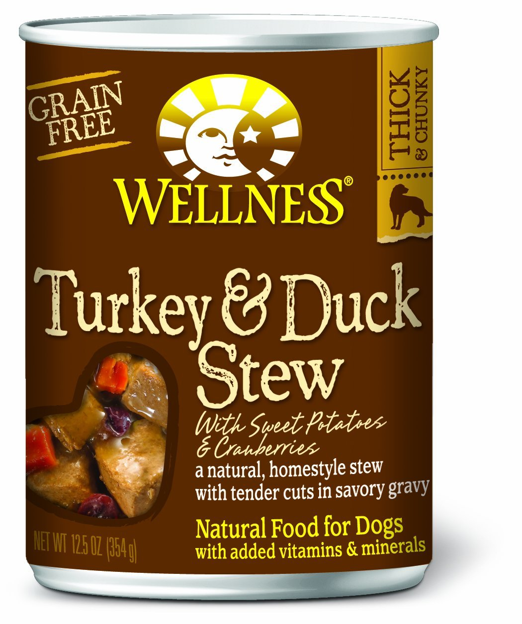 Turkey & Duck Stew with Sweet Potatoes & Cranberries