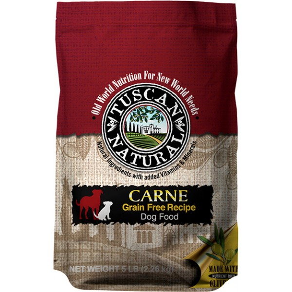 Tuscan Natural Carne Grain Free Recipe Dog Food