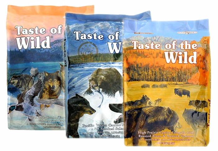 View All Taste of the Wild Dog Food