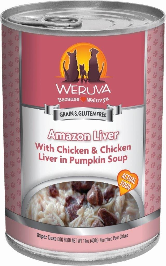 Weruva Amazon Liver Dog Food