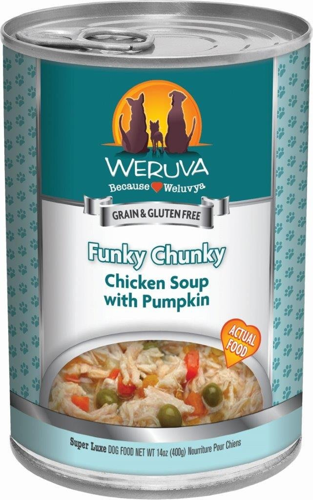 Weruva Funky Chunky Chicken Soup Dog Food