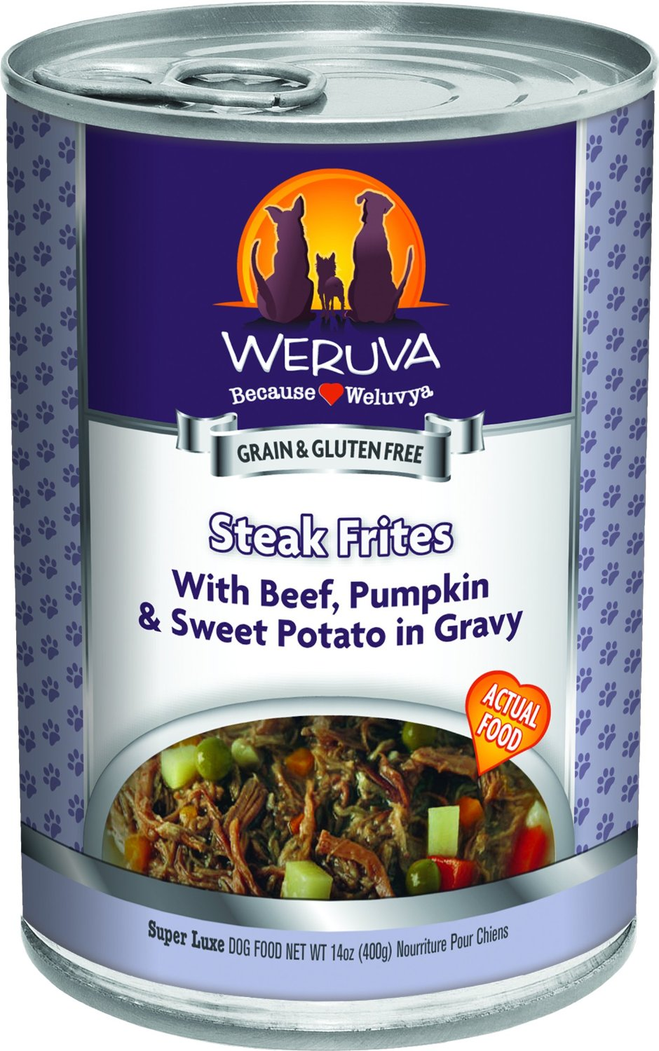 Weruva Steak Frites Dog Food