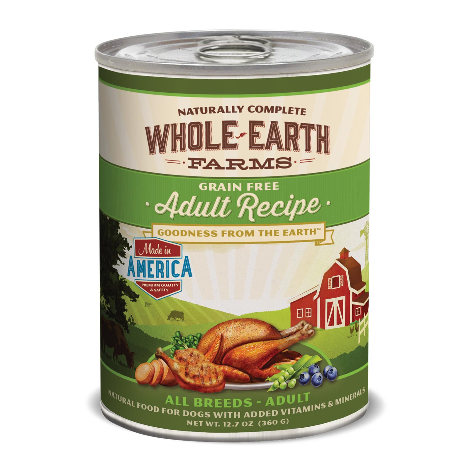 Whole Earth Farms Grain Free Adult Canned Dog Food