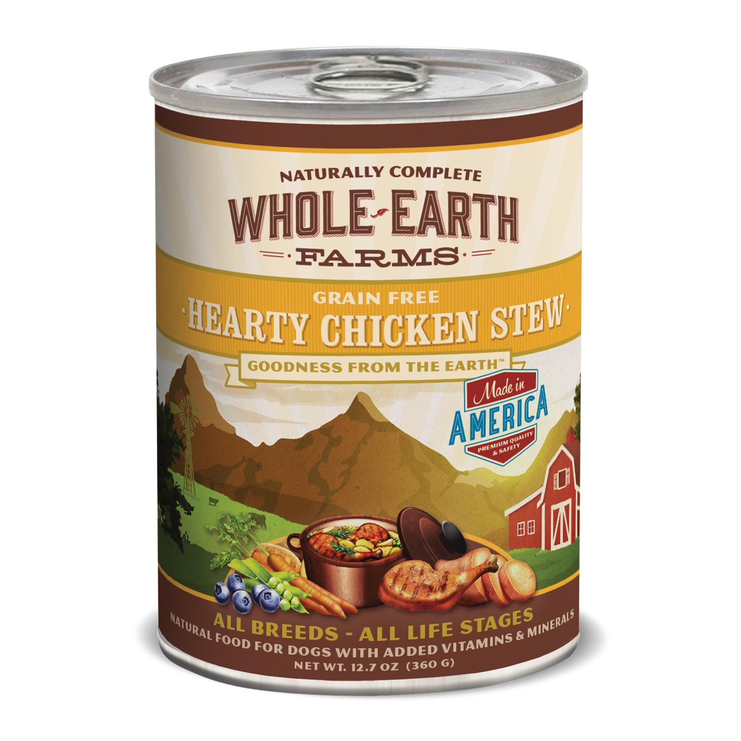 Whole Earth Farms Grain Free Chicken Canned Dog Food