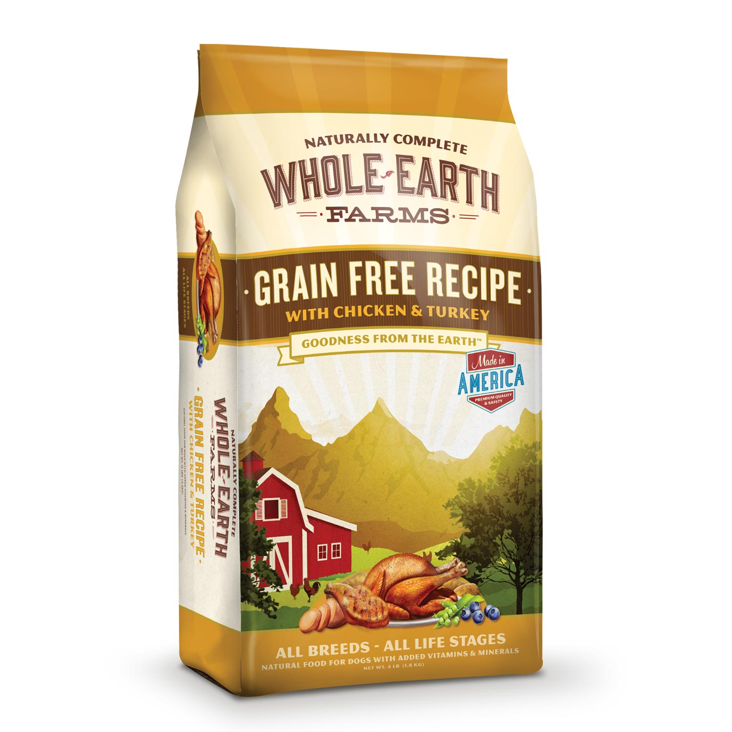 Whole Earth Farms Grain Free Chicken & Turkey Dry Dog Food