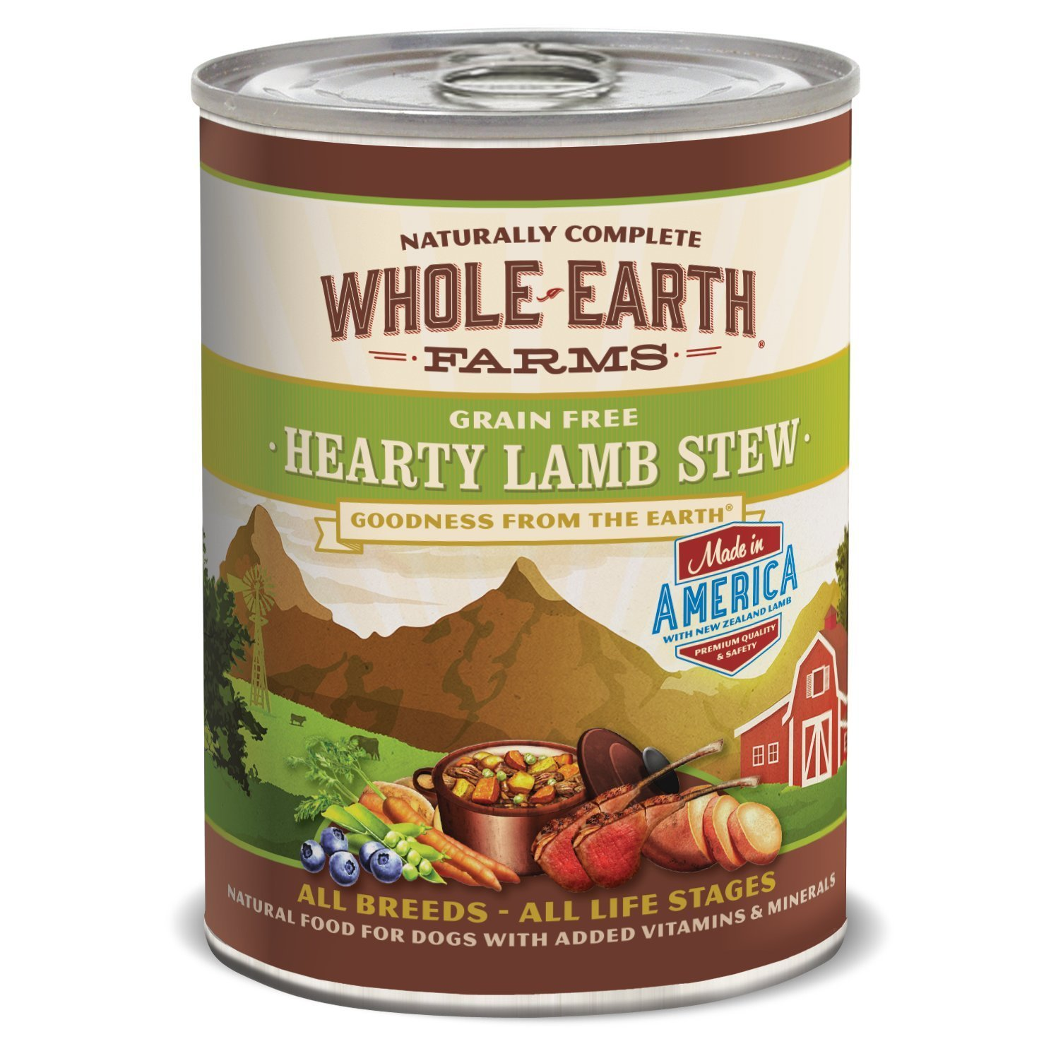 Whole Earth Farms Grain Free Lamb Canned Dog Food
