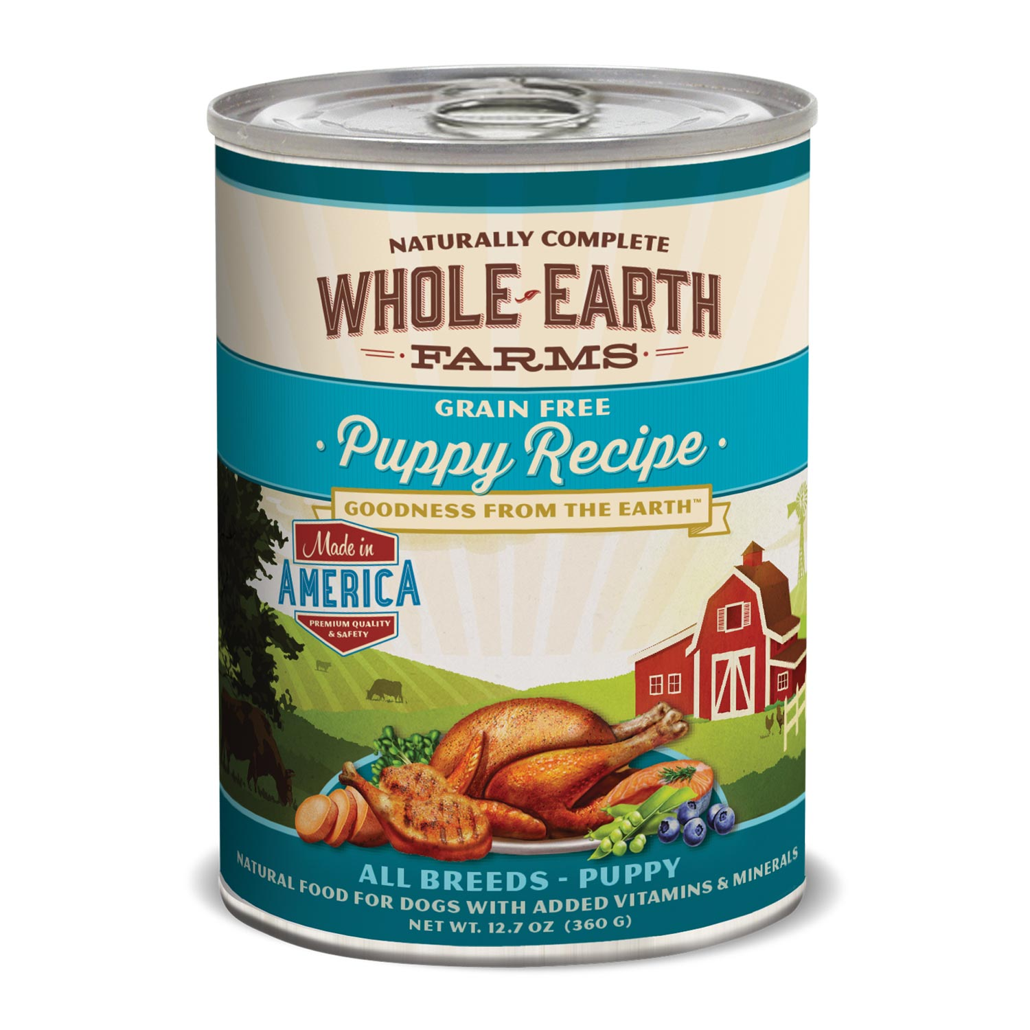 Whole Earth Farms Grain Free Puppy Canned Dog Food
