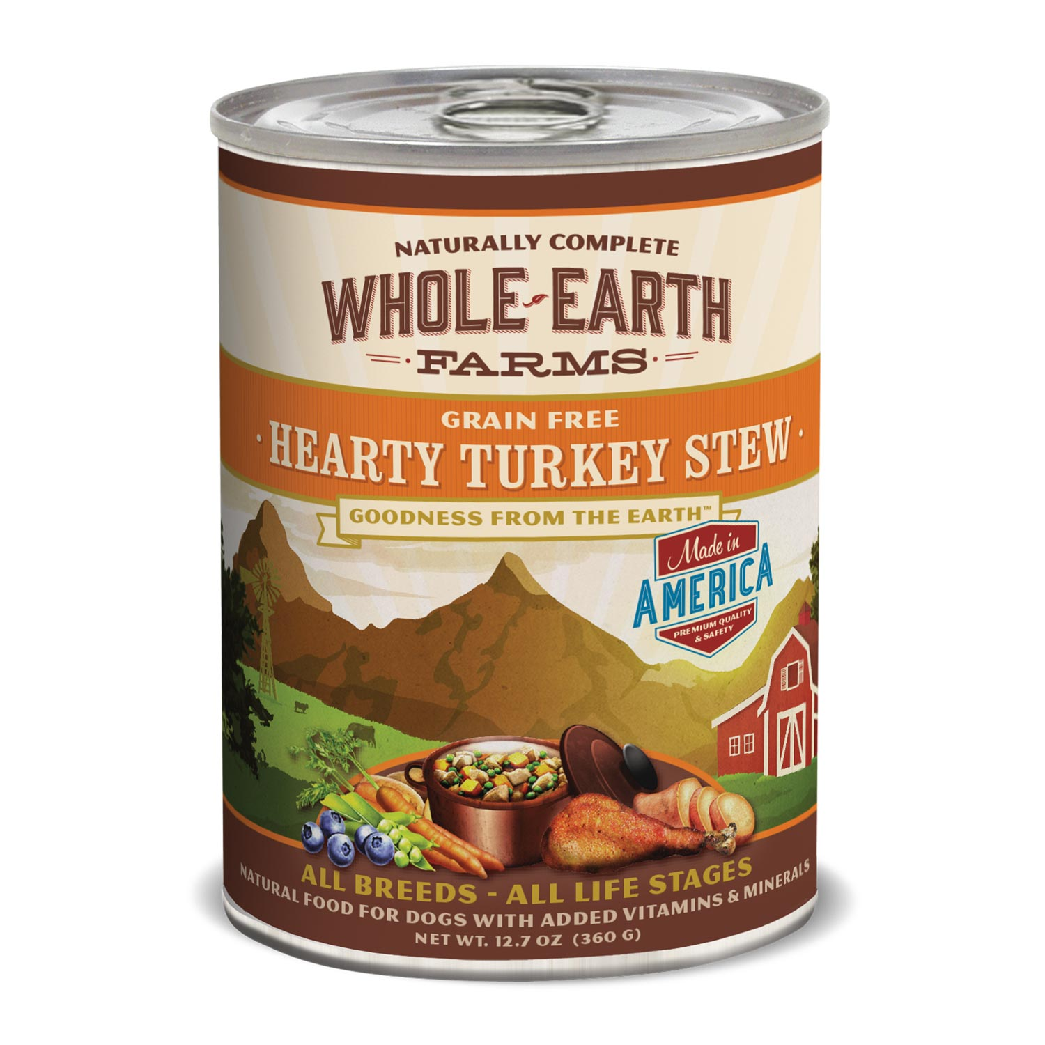 Whole Earth Farms Grain Free Turkey Canned Dog Food