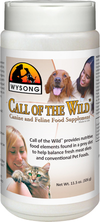 Wysong Call of the Wild Dog Supplement
