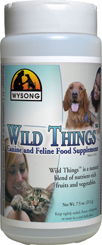 Wysong Wild Things Dog Supplement