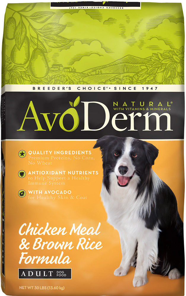 Best Selling AvoDerm Dog Food